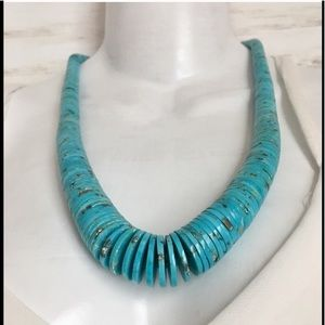 Vintage Turquoise Native American Navajo Necklace